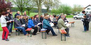 2017-05-09 - Maiandacht Pinzing Huberkreuz