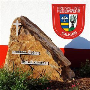 Gedenkstein Dalking Feuerwehr
