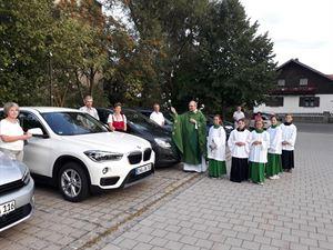 Fahrzeugsegnung Gleißenberg 2017