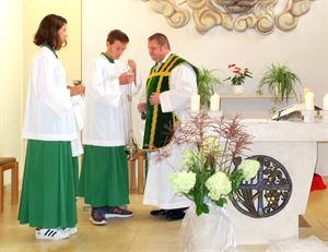 letzte Messe Pfarrer Grzesiak