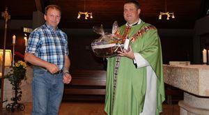 letzte Messe Pfarrer Grzesiak in Dalking