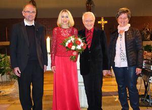 Kirchenkonzert in Dalking Astrid Harzbecker