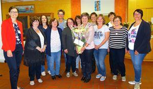 Frauenbund Dalking Bild_3_Überraschung für Vorsitzende