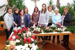 2018-11-23 - Verkauf Frauenbund Adventskränze