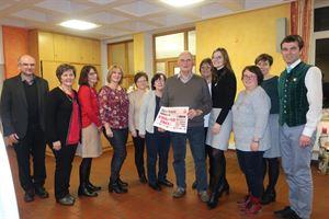2018-12-11 - Spendenübergabe Frauenbund Dalking