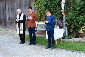 2019-05-17 - Maiandacht Huberkreuz Pinzing