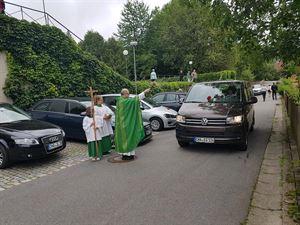 2019-07-14 Fahrzeugsegnung Lixenried