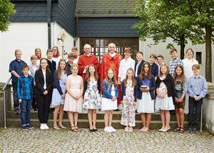 201-07-17 - Firmung Kinder Gleißenberg