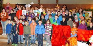 Kinderbibeltag Pfarrkirche Dalking