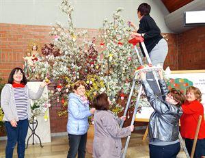 Osterstrauß Frauenbund Pfarrkirche